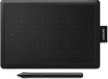 Tableta grafica Wacom One Small Negru/Rosu