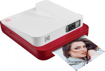 Aparat Foto Instant Kodak Smile Classic Rosu Aparate foto compacte