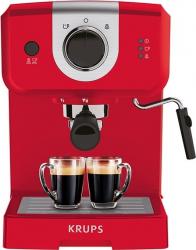 Espressor manual KRUPS Pump XP320530 1025 W 1.5 l 15 bar Dispozitiv spumare Rosu Expresoare espressoare cafea