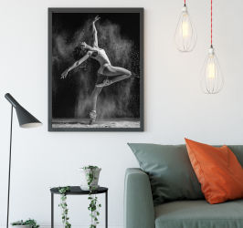 Poster inramat Balerina 30x45 cm Tablouri