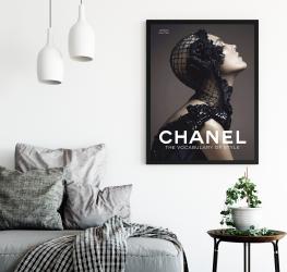 Poster inramat Chanel 30x45 cm Tablouri