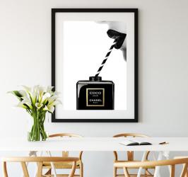 Poster inramat Chanel energy 30x45 cm Tablouri