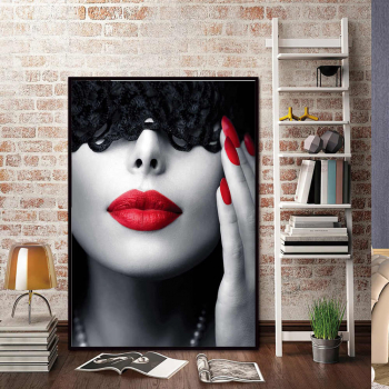 Poster inramat Eleganta feminina 30x45 cm Tablouri