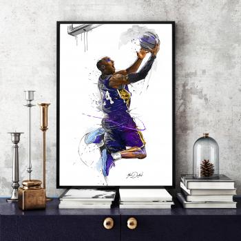 Poster inramat Jucator de baschet 40x60 cm Tablouri