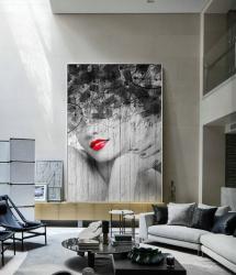 Poster inramat Lady 30x45 cm Tablouri