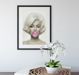 Poster inramat Marilyn 30x45 cm Tablouri