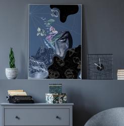 Poster inramat Puterea astrelor 30x45 cm Tablouri