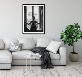 Poster inramat Vedere de la fereastra 30x45 cm Tablouri
