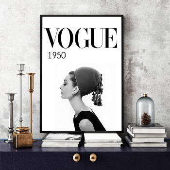 Poster inramat Vogue 30x45 cm Tablouri