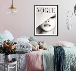 Poster inramat Vogue 50x75 cm Tablouri