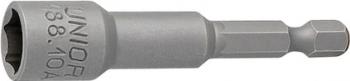 Cap cheie tubulara SW Unior de 17 mm cu magnet si prindere hexagonala 1/4 pentru masina Prasitori