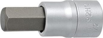Cap cheie tubulara Unior de 19 mm si profil hexagonal exterior scurt 1/2 Prasitori