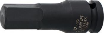 Cap de IMPACT cu profil hexagonal exterior 1/2 marca Unior cu diametrul de 10 mm Prasitori