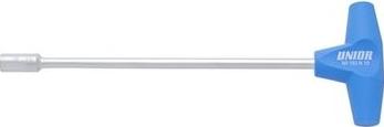 Cheie cu maner de plastic in T marca Unior cu dimensiunea de 13 mm Prasitori