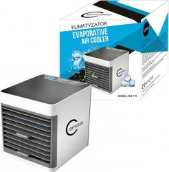 Mini aparat de aer conditionat portabil pentru camera sau birou iluminare LED rezervor 375ml 10W