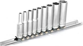 and nbsp Set capete chei tubulare cu profil TORX TX8-TX40 / 8 piese cu sina 1/4 and Prasitori