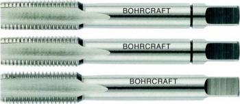 Set tarozi pentru filetare manuala pas normal DIN 352 HSS-G 3 buc/set Metric 10 cu pas de 1 50 mm Bohrcraft