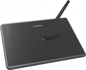 Tableta grafica Huion H430P OSU 4096 niveluri presiune include 8 Varfuri compatibil cu Mac PC sau Android Mobile