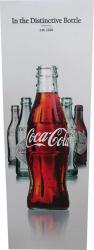 Tablou decorativ pe placaj evolutia sticlei coca-cola 52 x 156 cm Tablouri