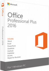 Microsoft Office Professional Plus 2016 All languages Windows PC Licenta electronica Aplicatii desktop