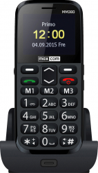 Telefon mobil Single SIM MaxCom Comfort MM38D Black