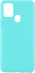 Husa Liquid Silicon pentru Samsung Galaxy A21S Mint Huse Telefoane