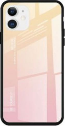 Husa de protectie Gradient pentru iPhone 11 Pro Max Gold Rose Huse Telefoane