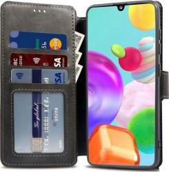 Husa Flip Carte Upzz Tech Wallet Samsung Galaxy A21s Negru Huse Telefoane