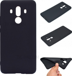 Husa TPU Silicon Huawei Mate 10 Pro Negru Brand Mobile Tuning Huse Telefoane