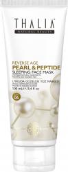 Masca de fata antirid Thalia Natural Beauty perle peptide si acid hialuronic 100ml