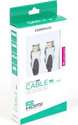 OMEGA OCHG34-DC HDMI CABLE v.1.4 GOLD 3M BLISTER Cabluri Video