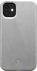 Husa Selfie Case pentru iPhone 11 Pro LED-uri incorporate Reincarcabila Protectie sporita Alb Mat Huse Telefoane