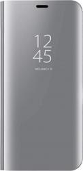 Husa Tip Carte S View Mirror Huawei P Smart 2019 Silver Huse Telefoane