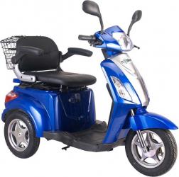 Tricicleta electrica 500W acceleratie 3 viteze alarma 50km Tornado TRD910 albastru Motociclete si Scutere