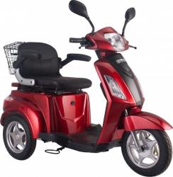 Tricicleta electrica 500W acceleratie 3 viteze alarma 50km Tornado TRD910 rosu Motociclete si Scutere