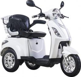 Tricicleta electrica 500W frana electromagnetica fara permis Z-Tech ZT 15 E alb Motociclete si Scutere