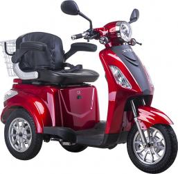 Tricicleta electrica 500W frana electromagnetica fara permis Z-Tech ZT 15 E rosu Motociclete si Scutere