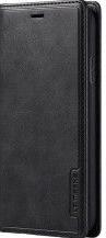 Husa Book Magnet LC Imeeke pentru iPhone 11 Pro Max Design 2 in 1 husa si portofel Buzunare pentru card Piele ecologica premium Negru Huse Telefoane