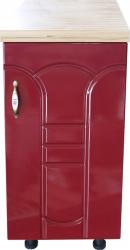 Masca pentru chiuveta cu 2 usi 80 cm Zebra Wenge/MDF Rosu Tulip cu blat Travertin 80 x 85 x 60 cm Mobilier baie