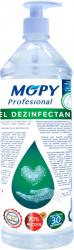 Gel dezinfectant antibacterian 70 alcool MOPY 1 litru avizat de Institutul Sanitaro- Medical Cantacuzino Gel antibacterian