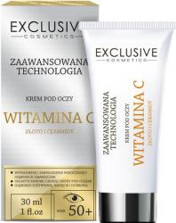 Crema de ochi cu Vitamina C si Microparticule de Aur 50+ Creme si demachiante