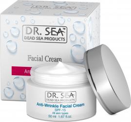 Crema Antirid cu Minerale de la Marea Moarta si factor de protectie SPF15 Creme si demachiante