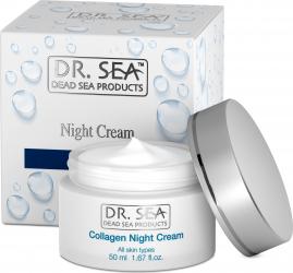 Crema de noapte cu Colagen si Minerale de la Marea Moarta Creme si demachiante