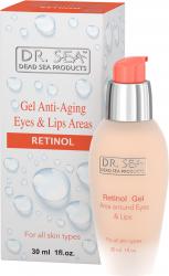 Gel cu Retinol si Minerale de la Marea Moarta pentru zona ochilor si buzelor Tratamente, serumuri