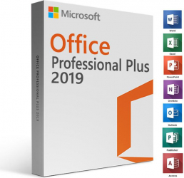 Microsoft Office 2019 Professional Plus RETAIL 4 GB RAM 32/64 biti Licenta Electronica - Activare doar prin telefon