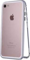 Bumper metalic husa prindere magnetica spate din sticla securizata carcasa protectie pentru iPhone 7 / 8
