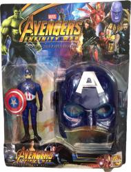 Figurina si masca Capitan America