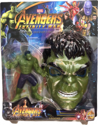 Figurina si masca Hulk