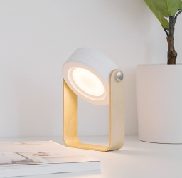 Lampa multifunctionala City Light citit ambientala veghe lanterna LED USB 4W cu touch 3 luminozitati portabila reincarcabila protectie ochi