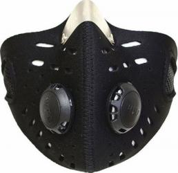 Masca de protectie pentru bicicleta sau motocicleta cu filtru de aerisire Negru Accesorii Moto